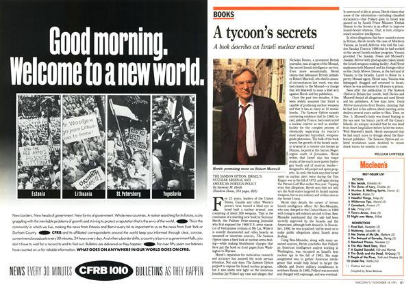 Article Preview: A tycoon's secrets, November 1991 | Maclean's