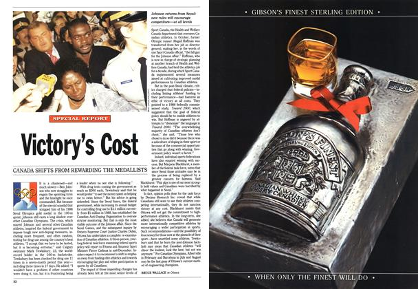 Article Preview: Victory's Cost, December 1991 | Maclean's