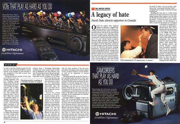 Article Preview: A legacy of hate, December 1991 | Maclean's