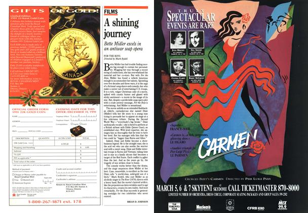 Article Preview: A shining journey, December 1991 | Maclean's
