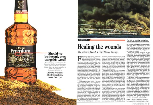 Article Preview: Healing the wounds, December 1991 | Maclean's