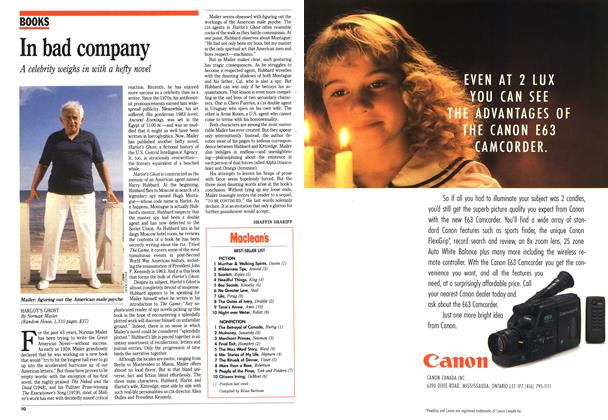 Article Preview: In bad company, December 1991 | Maclean's