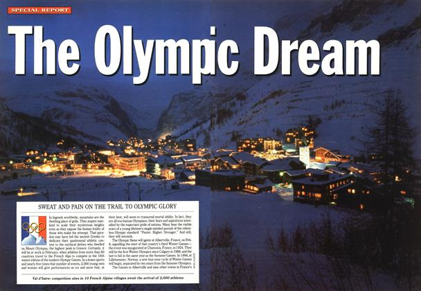 Article Preview: The Olympic Dream, December 1991 | Maclean's