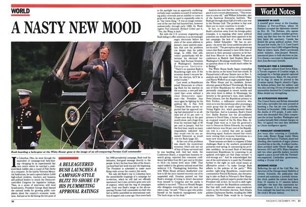 Article Preview: A NASTY NEW MOOD, December 1991 | Maclean's