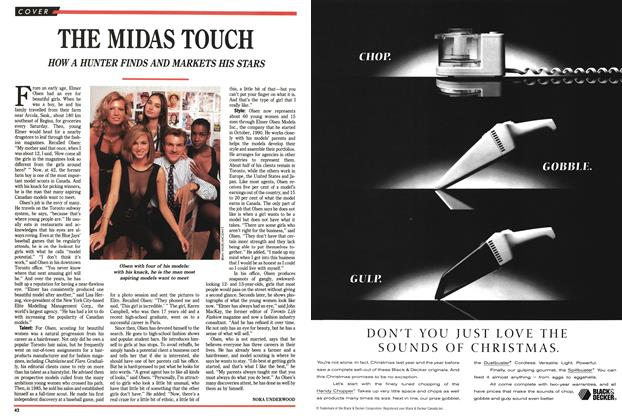 Article Preview: THE MIDAS TOUCH, December 1991 | Maclean's