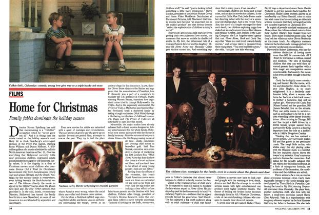 Article Preview: Home for Christmas, December 1991 | Maclean's