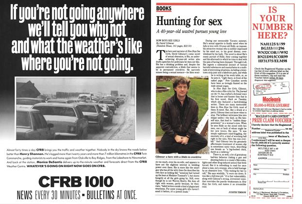 Article Preview: Hunting for sex, December 1991 | Maclean's