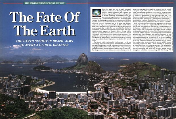 Article Preview: The Fate Of The Earth, December 1991 | Maclean's