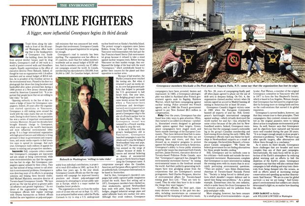 Article Preview: FRONTLINE FIGHTERS, December 1991 | Maclean's