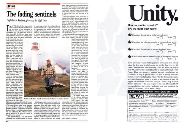 Article Preview: The fading sentinels, December 1991 | Maclean's