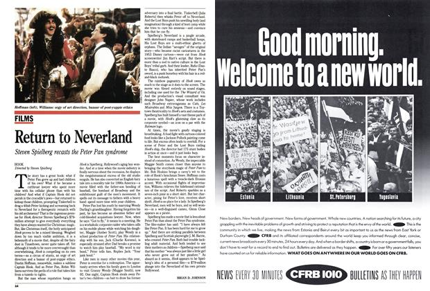 Article Preview: Return to Neverland, December 1991 | Maclean's