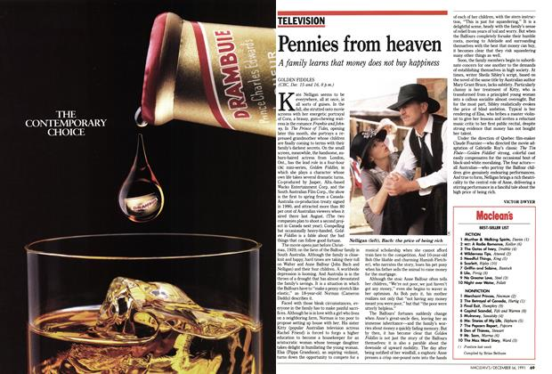 Article Preview: Pennies from heaven, December 1991 | Maclean's