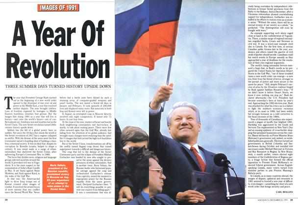 Article Preview: A Year Of Revolution, December 1991 | Maclean's