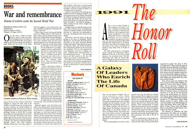 Article Preview: Maclean's BEST-SELLER LIST, December 1991 | Maclean's