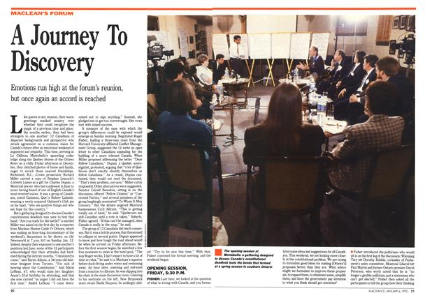 Article Preview: A Journey To Discovery, January 1992 | Maclean's