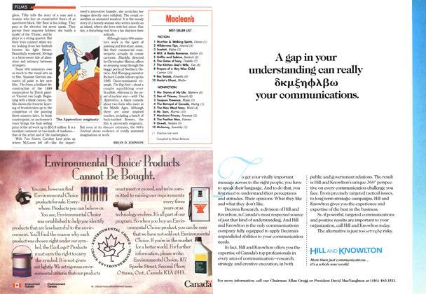 Article Preview: Maclean's BEST-SELLER LIST, January 1992 | Maclean's