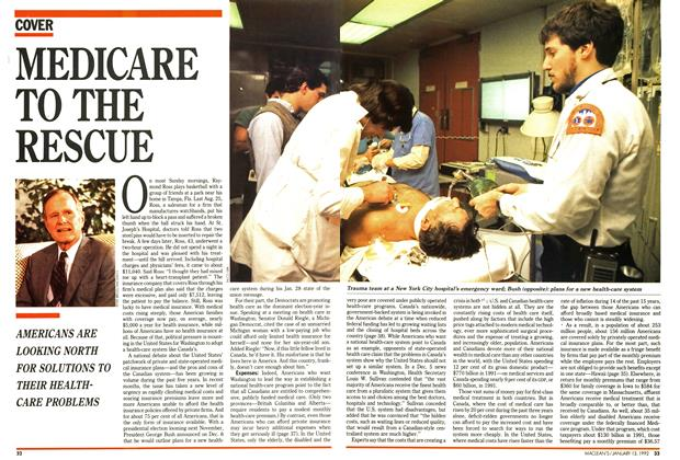 Article Preview: MEDICARE TO THE RESCUE, January 1992 | Maclean's