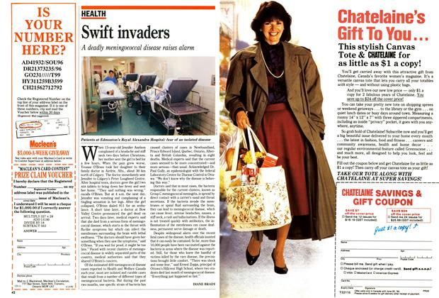 Article Preview: Swift invaders, January 1992 | Maclean's