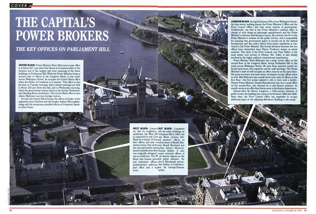 Article Preview: THE CAPITAL'S POWER BROKERS, January 1992 | Maclean's