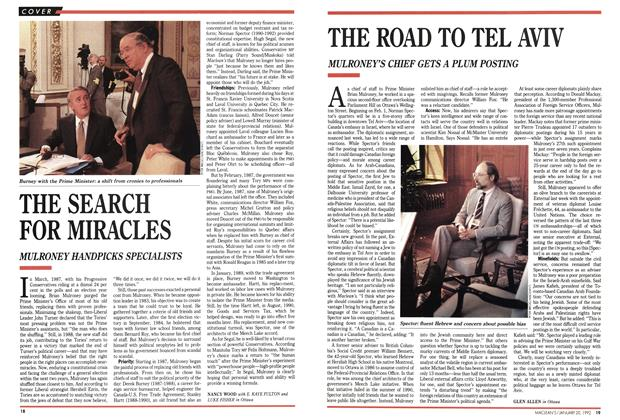 Article Preview: THE ROAD TO TEL AVIV, January 1992 | Maclean's