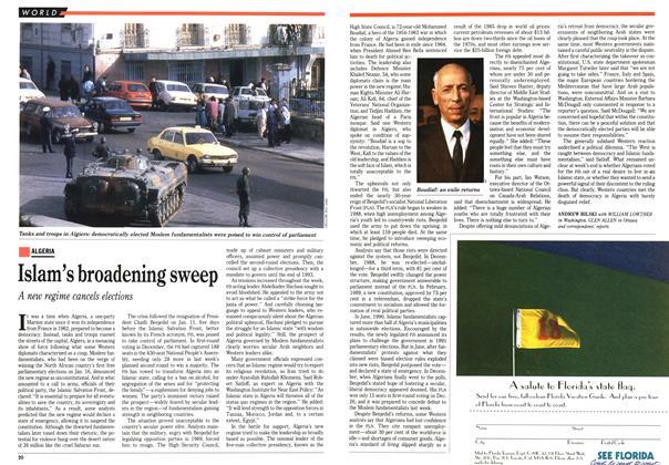 Article Preview: Islam's broadening sweep, January 1992 | Maclean's
