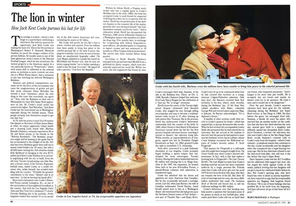 Article Preview: The lion in winter, January 1992 | Maclean's