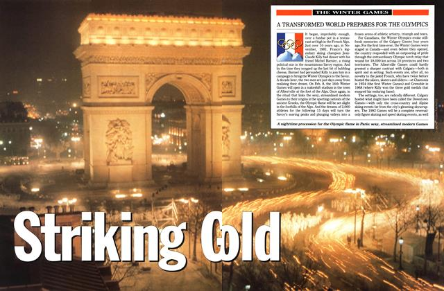 Article Preview: Striking Gold, February 1992 | Maclean's