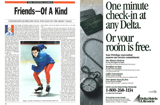 Article Preview: Friends—Of A Kind, February 1992 | Maclean's