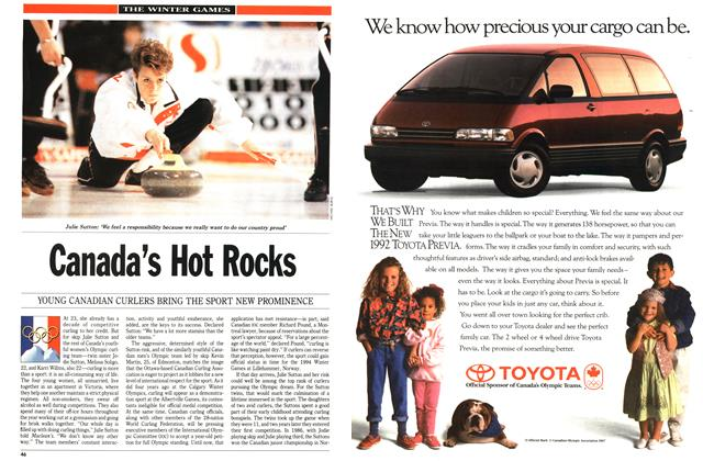 Article Preview: Canada's Hot Rocks, February 1992 | Maclean's