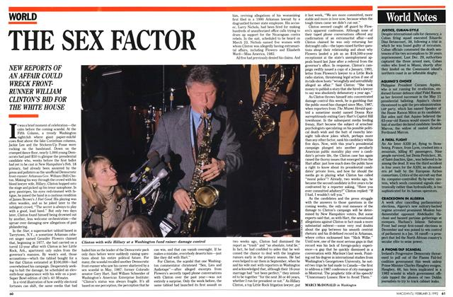 Article Preview: THE SEX FACTOR, February 1992 | Maclean's