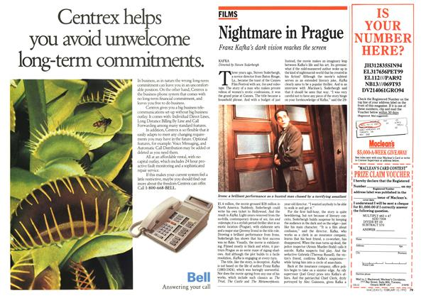 Article Preview: Nightmare in Prague, February 1992 | Maclean's