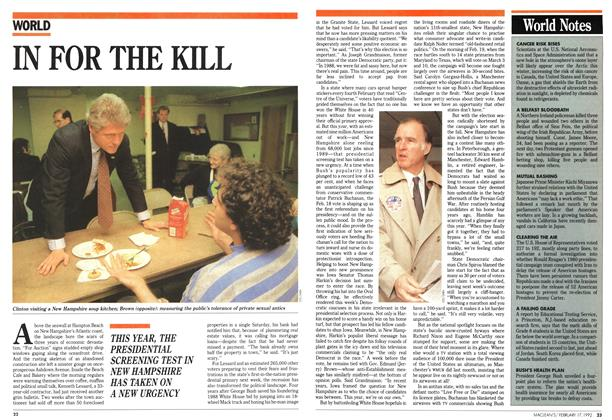 Article Preview: IN FOR THE KILL, February 1992 | Maclean's