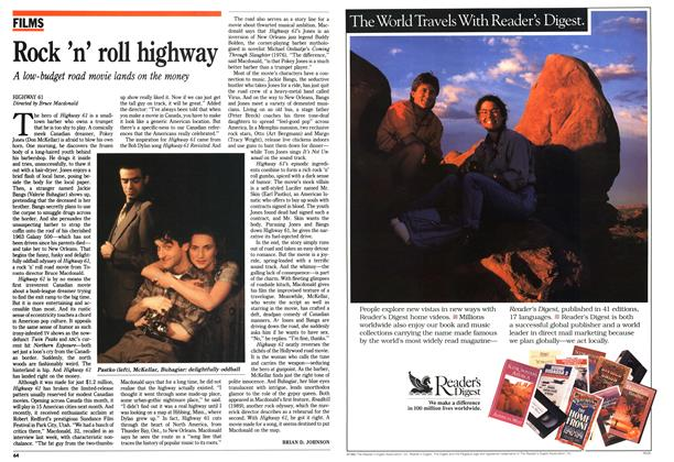 Article Preview: Rock 'n' roll highway, February 1992 | Maclean's