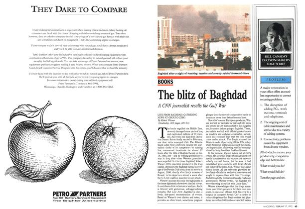 Article Preview: The blitz of Baghdad, February 1992 | Maclean's