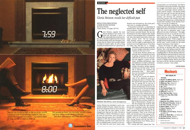 Article Preview: The neglected self, February 1992 | Maclean's