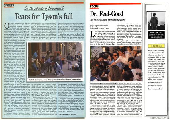 Article Preview: Dr. Feel-Good, February 1992 | Maclean's