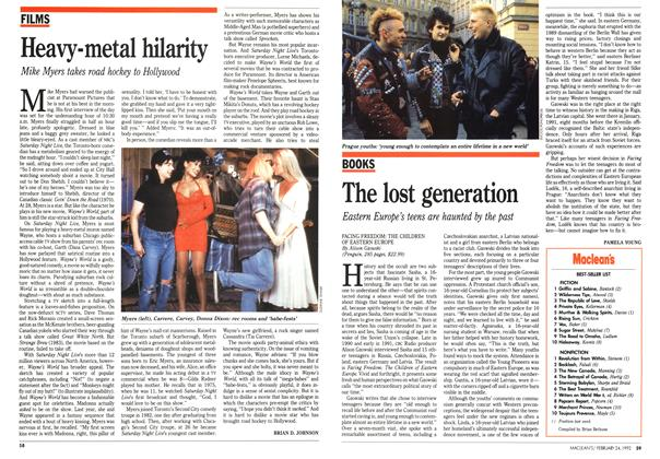 Article Preview: The lost generation, February 1992 | Maclean's