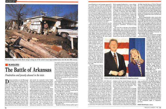 Article Preview: The Battle of Arkansas, March 1992 | Maclean's