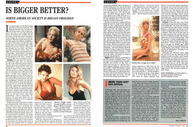 Article Preview: MORE THAN JUST SEX APPEAL, March 1992 | Maclean's