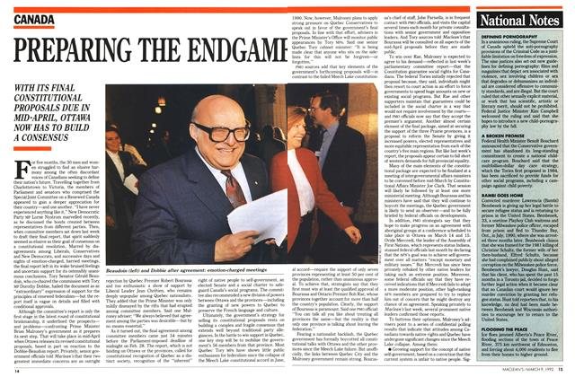 Article Preview: PREPARING THE ENDGAME, March 1992 | Maclean's