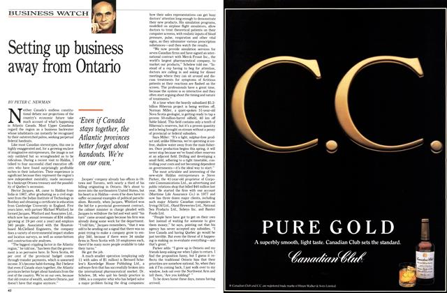 Article Preview: Setting up business away from Ontario, March 1992 | Maclean's