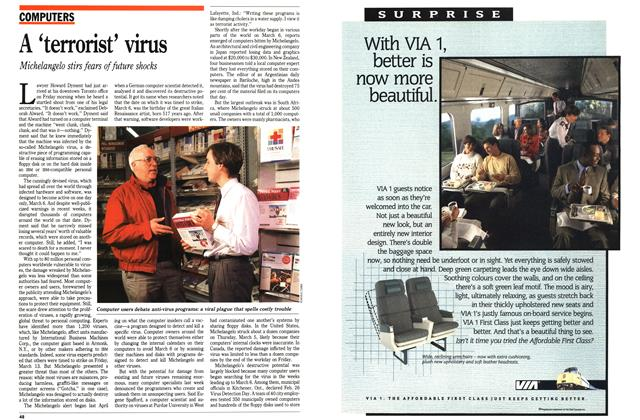 Article Preview: A 'terrorist' virus, March 1992 | Maclean's