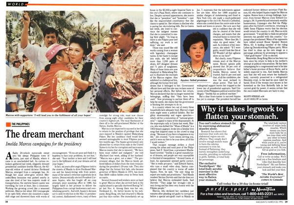 Article Preview: The dream merchant, March 1992 | Maclean's