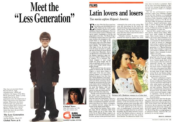 Article Preview: Latin lovers and losers, March 1992 | Maclean's