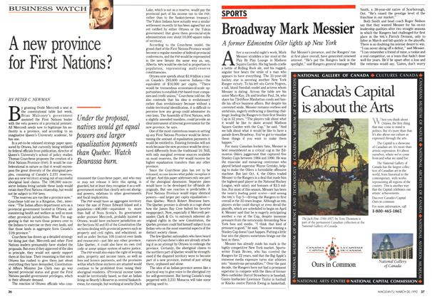 Article Preview: Broadway Mark Messier, March 1992 | Maclean's