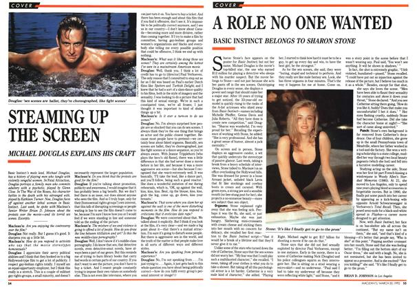 Article Preview: A ROLE NO ONE WANTED, March 1992 | Maclean's