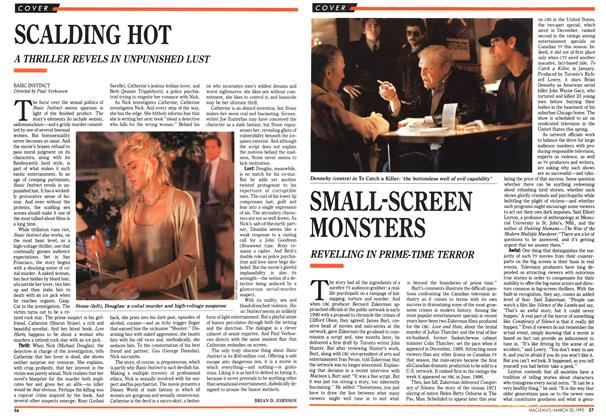 Article Preview: SMALL-SCREEN MONSTERS, March 1992 | Maclean's