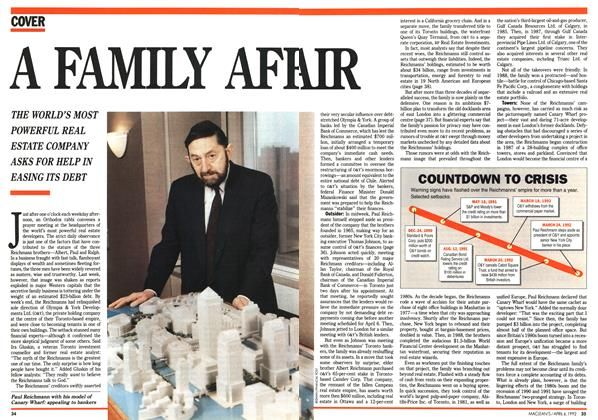 Article Preview: A FAMILY AFF AIR, April 1992 | Maclean's