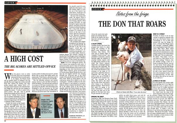 Article Preview: THE DON THAT ROARS, April 1992 | Maclean's
