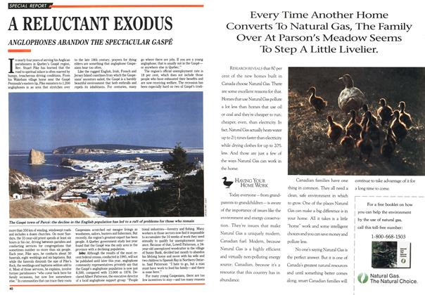 Article Preview: A RELUCTANT EXODUS, April 1992 | Maclean's